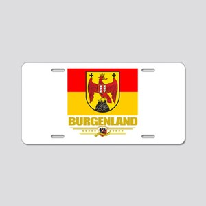 Burgenland (Flag 10) Aluminum License Plate